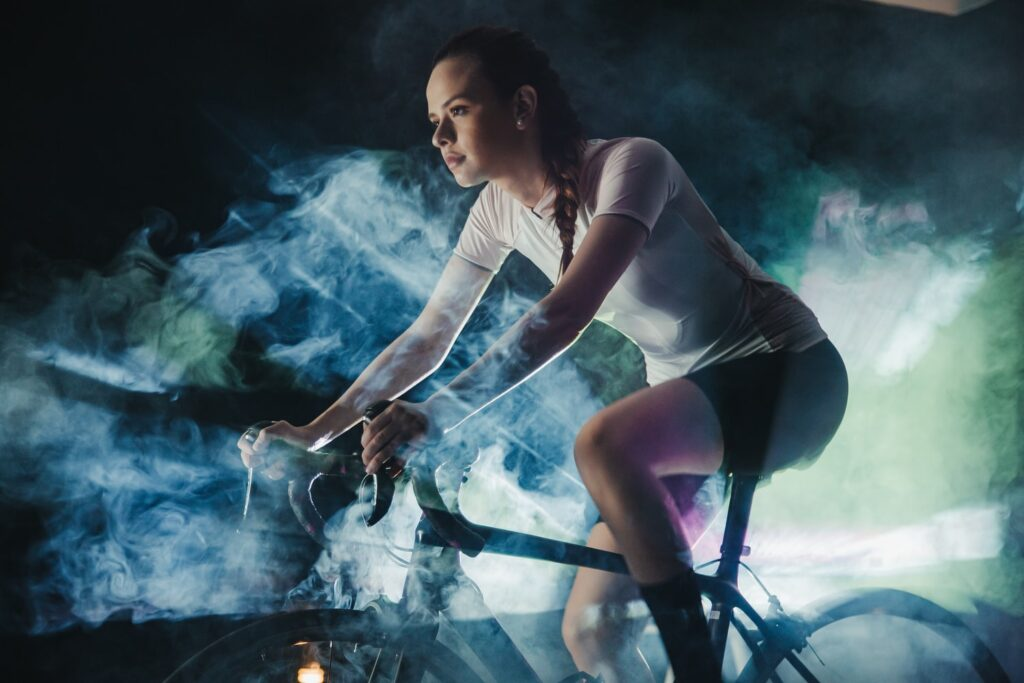 Cycling Indoor training - Facerace